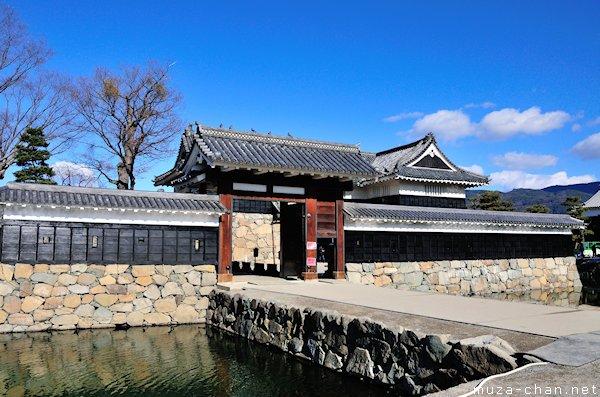 Matsumoto Castle, Ninomon, Matsumoto