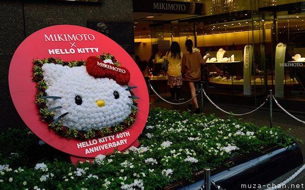 Mikimoto × Hello Kitty, 40th anniversary, Ginza, Tokyo