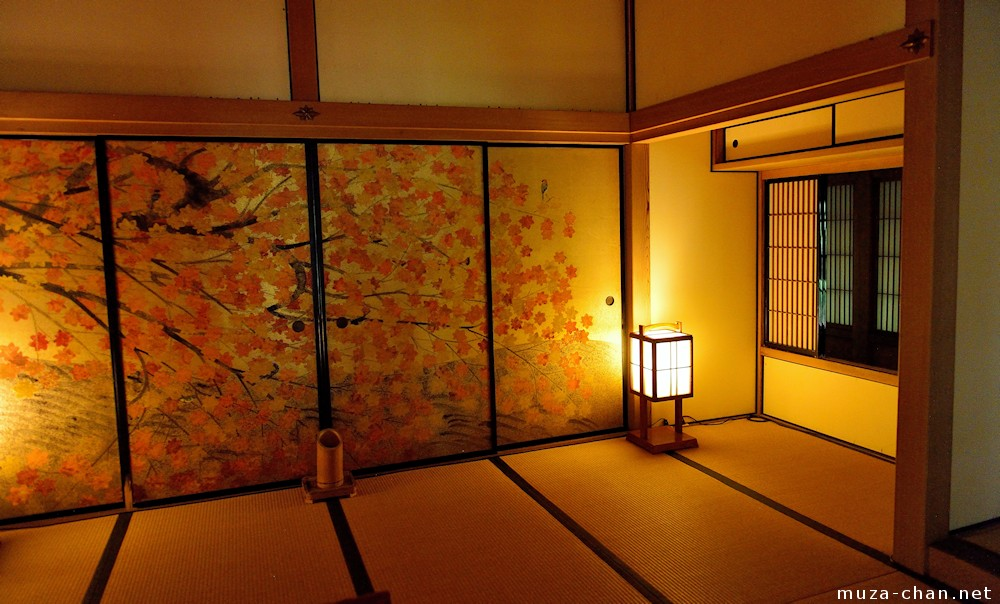 Japanese Traditional House Kobuntei Maple Room