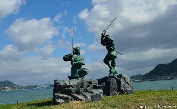 Miyamoto Musashi versus Sasaki Kojiro, Ganryu Island, Shimonoseki