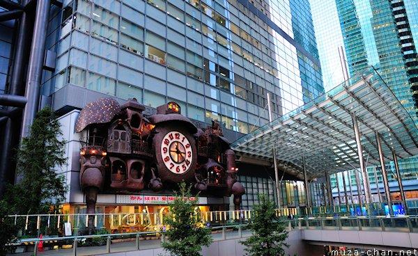 NI-TELE really BIG clock, Nippon Television Tower, Tokyo