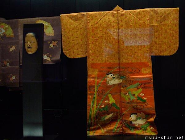 Noh costume and mask, Noh Play Matsukaze, Tokyo National Museum, Tokyo, Ueno