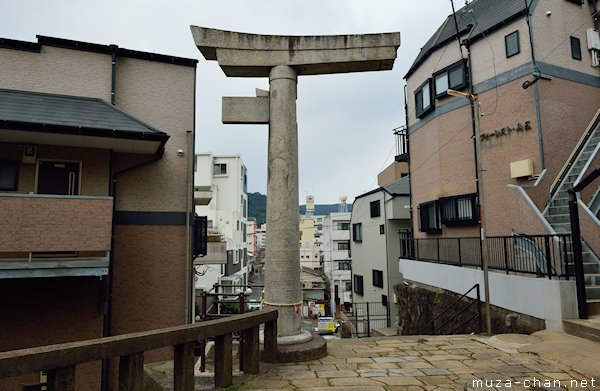 One-legged torii , Sanno Shrine, Nagasaki