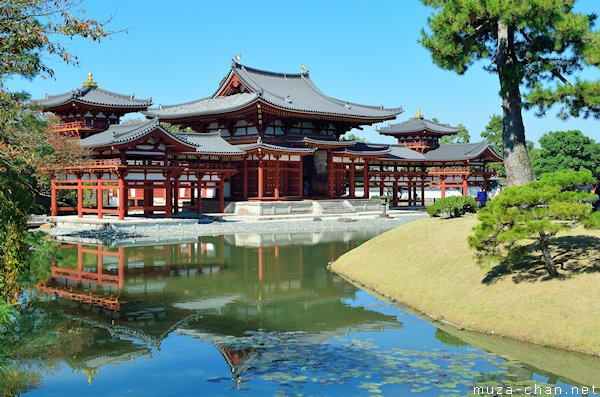 Phoenix Hall, Byodo-in, Uji, Kyoto