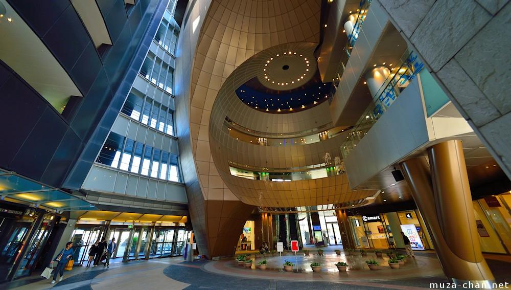 Japanese Modern Architecture Inside The Riverwalk Kitakyushu