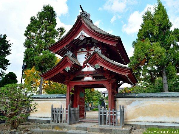 Seigan Temple Gate, Hirosaki, Aomori
