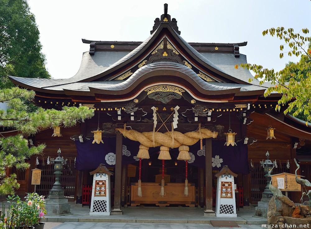 Shinto shrines, Shimenawa
