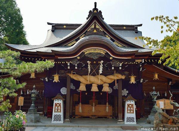 Kushida Jinja, Fukuoka