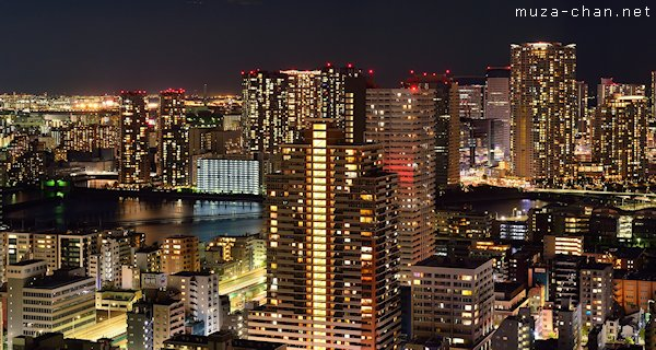 View from Saint Luke's Tower, Tokyo