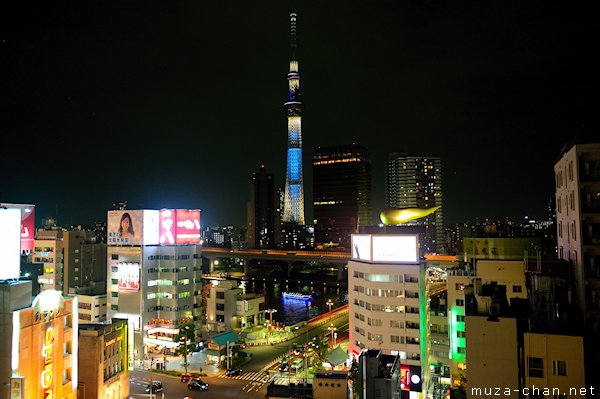 Tokyo sky tree the tallest tower in the world