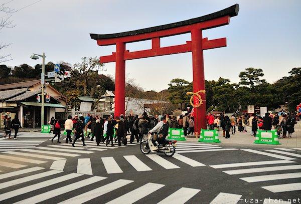 Tsurugaoka Hachimangu, Torii, Kamakura