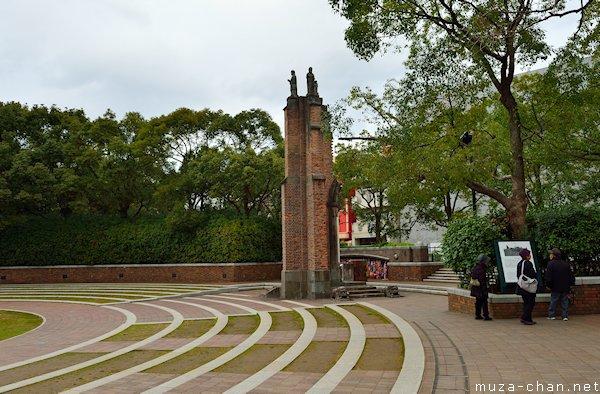 Urakami Cathedral wall remnant, Nagasaki