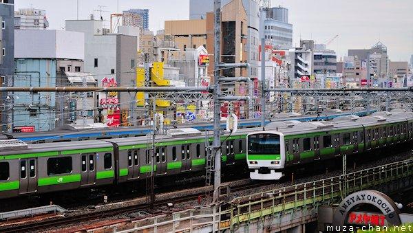 Yamanote train, Tokyo