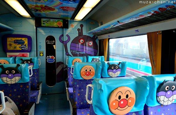 Anpanman train, Shikoku