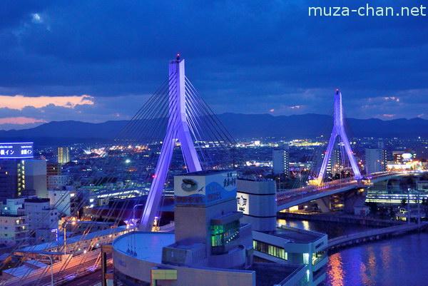 Aomori Bay Bridge, Aomori