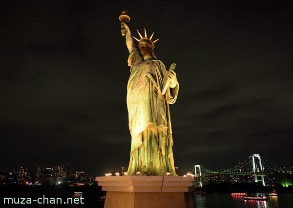 Statue of Liberty, Aqua City, Fuji Tv, Odaiba, Tokyo