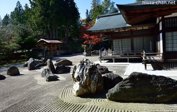 Banryutei Rock Garden, Kongobuji, Koya-san, Wakayama