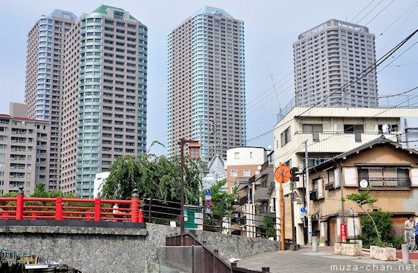 Tsukishima street, Tokyo