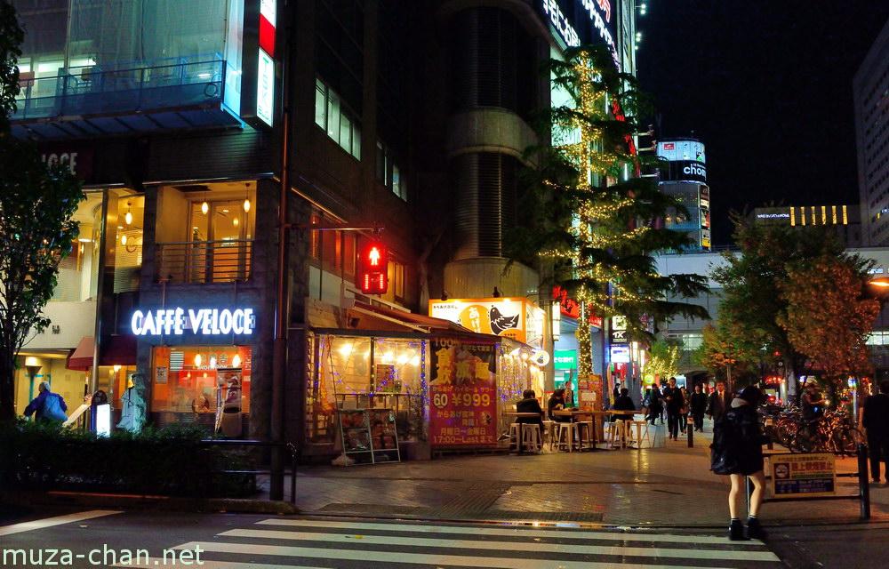night street scene in akihabara