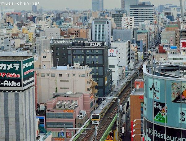 Chūō-Sōbu Line, Akihabara, Tokyo