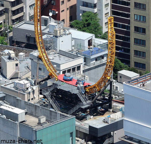 Don Quijote Shopping Mall Roller coaster, Tokyo