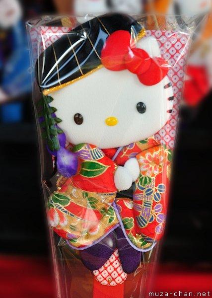 Hello Kitty Hagoita, Tokyo