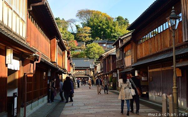 Higashi chaya district, Kanazawa