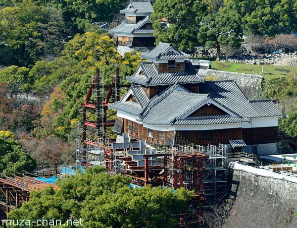 Iidamaru Gokai Yagura, Kumamoto Castle, Kumamoto