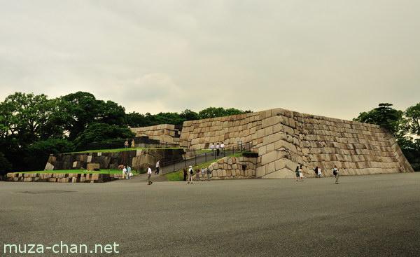 Edo Castle foundation, Imperial Palace, Tokyo