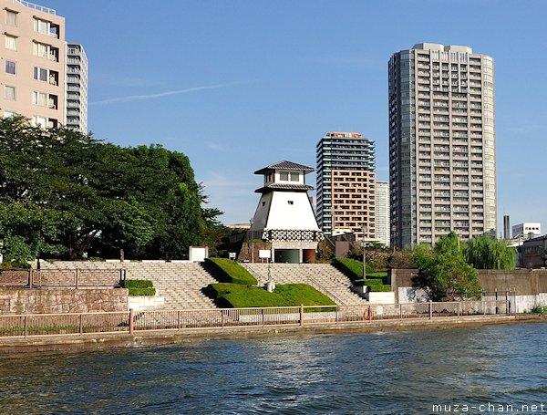 Ishikawajima Lighthouse, Tsukuda, Tokyo