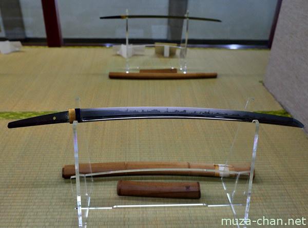 Japanese sword, Iwakuni Castle, Yamaguchi