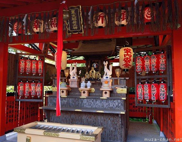 Kurimitsu Inari Shrine, Jishu Shrine, Kyoto