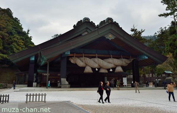 Kagura-den, Izumo Taisha Grand Shrine, Izumo, Shimane