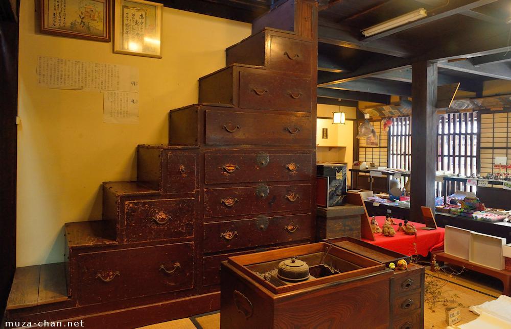 Kaidan Tansu Japanese Staircase Chest