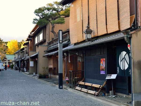 Kamishichiken, Nishijin, Kyoto