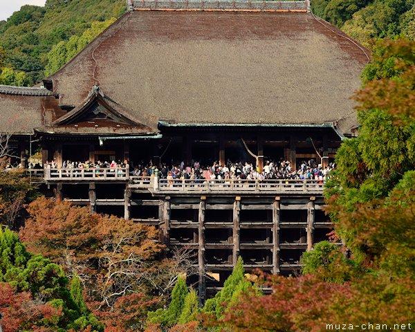 Kiyomizu-dera, Main Hall, Kyoto