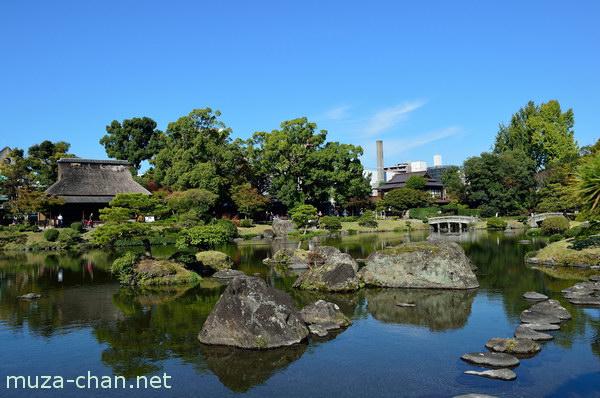 Kokin-Denju-no-Ma tea house, Suizenji Garden, Kumamoto