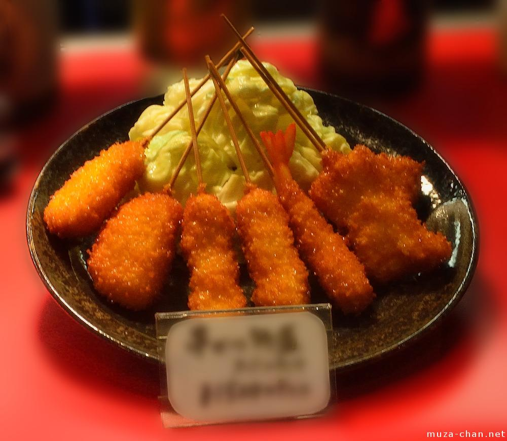 Popular Japanese food, Kushikatsu
