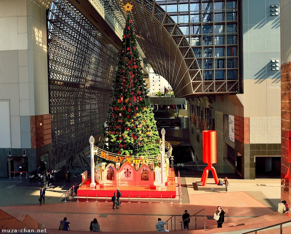 Kyoto Station Christmas Tree
