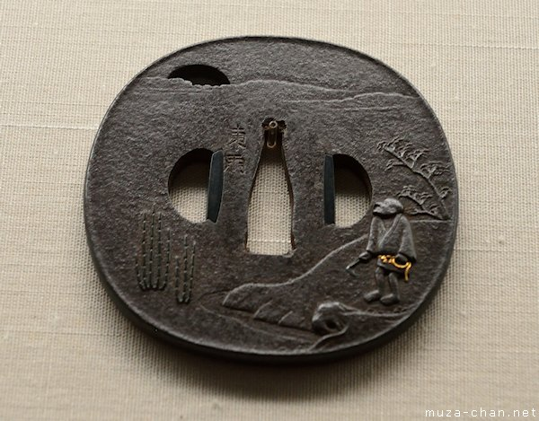 Japanese tsuba, Tokyo National Museum, Tokyo, Ueno