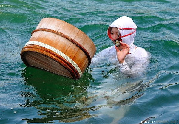 Ama women diver, Mikimoto Pearl Island, Toba