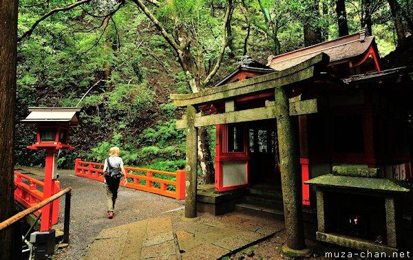 Miroku Bosatsu Temple, Mount Kurama, Kyoto