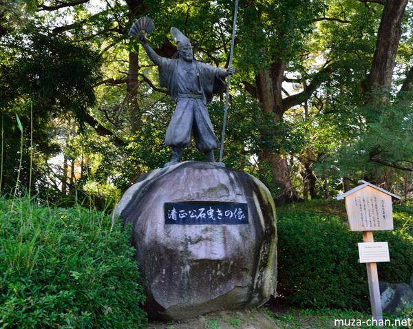 Kato Kiyomasa statue, Nagoya Castle, Nagoya