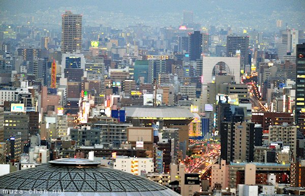 Namba, View from ORC 200, Osaka