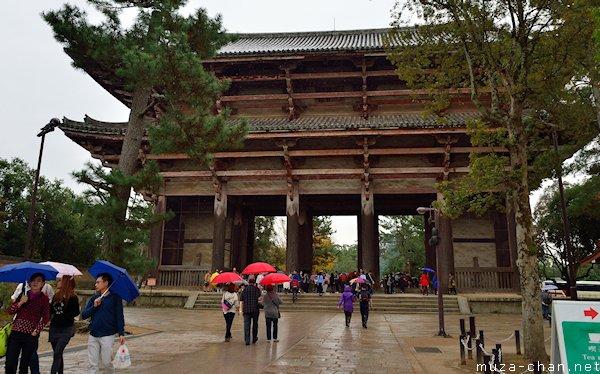 Nandaimon Gate, Todaiji Temple, Nara
