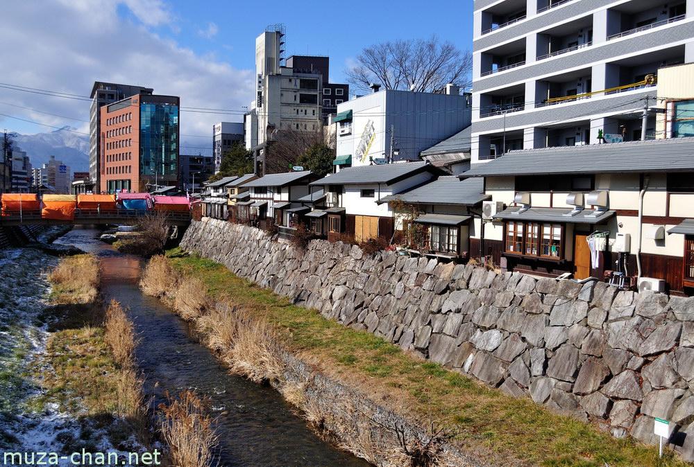 Nawate-dori, the frog street