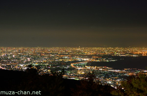 Kobe, View from Mount Rokko Observatory