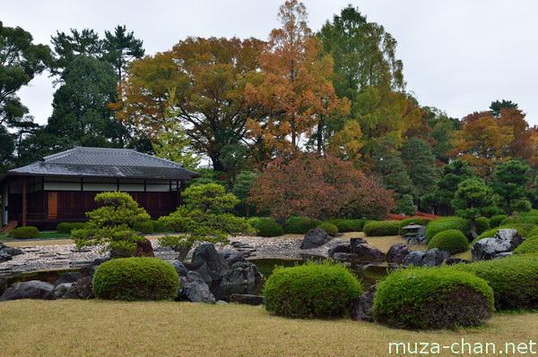 Seiryu-en garden, Nijō Castle, Kyoto