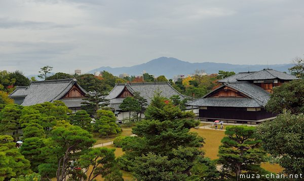 Honmaru garden and palace, Nijō Castle, Kyoto