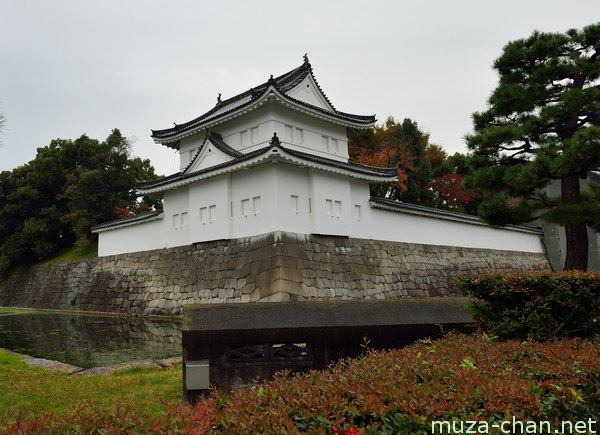 Southeast yagura, Nijō Castle, Kyoto